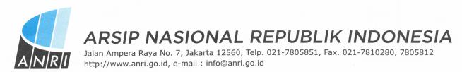 Pengumuman Hasil Seleksi Kompetensi Dasar (SKD) CPNS Arsip Nasional Republik Indonesia Formasi Tahun 2019